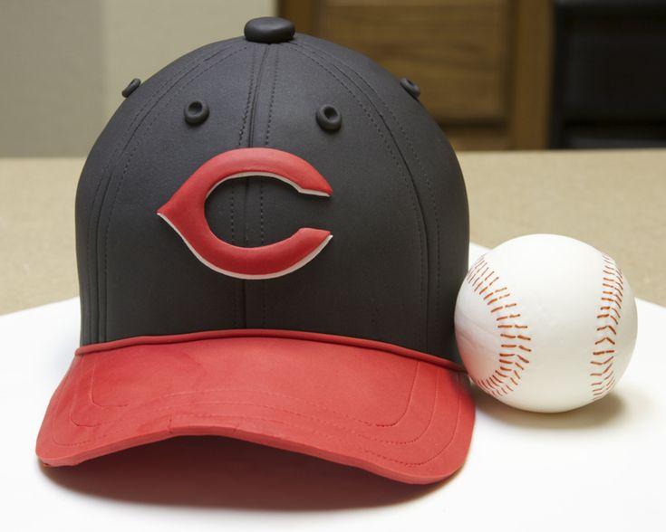 Baseball Hat Cake