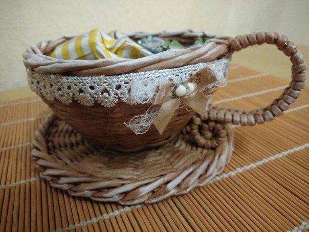 Чайный набор Плетение