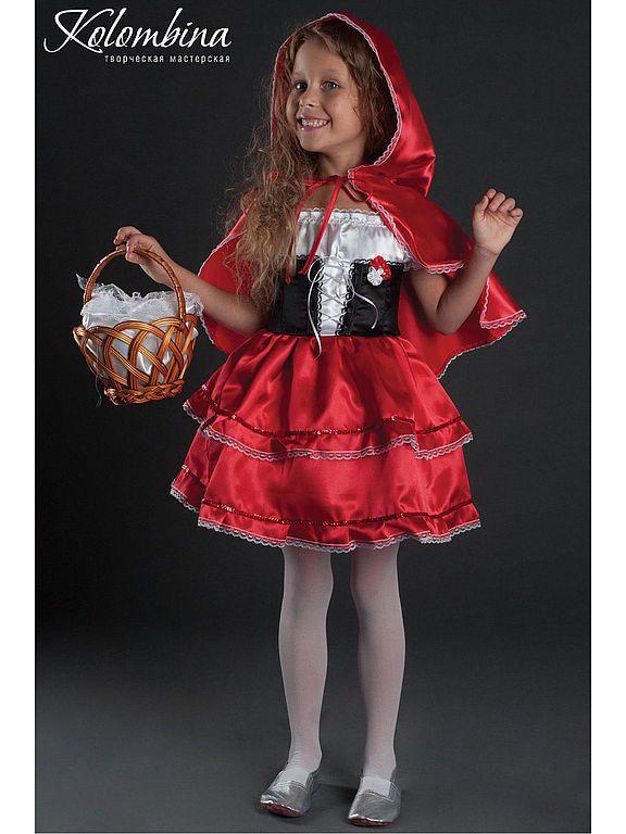 костюм красной шапочки - Olga (art-colombina) - Ярмарка Мастеров http://www.livemaster.ru/item/4390469-raboty-dlya-detej-kostyum-krasnoj-shapochki