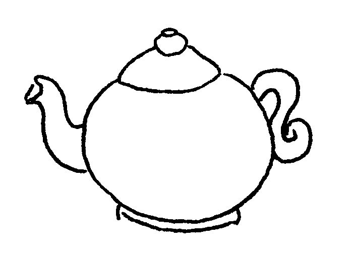 find this pin and more on costumes simple teapot coloring page