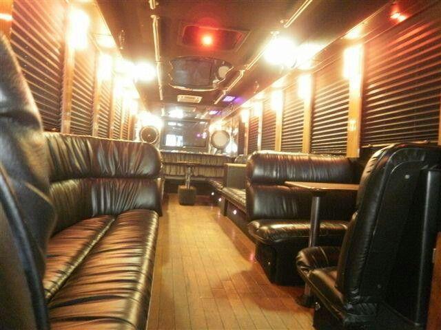 Custom 30 passenger party bus for sale