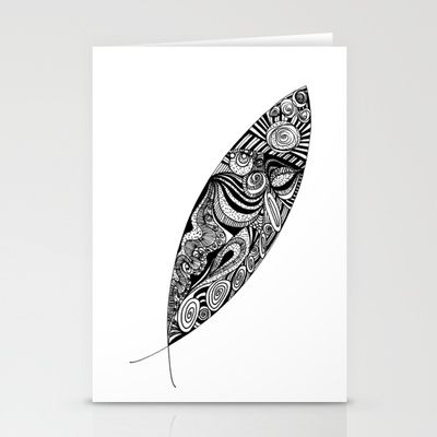 Fish Stationery Cards by lf.o