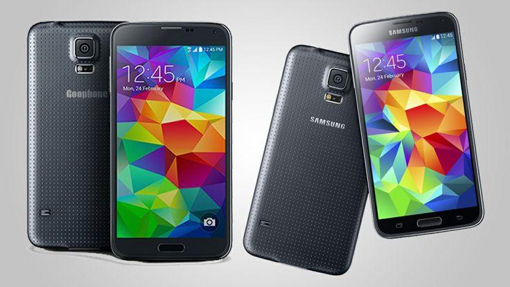 Goophone S5, el doble oficial del Samsung Galaxy S5