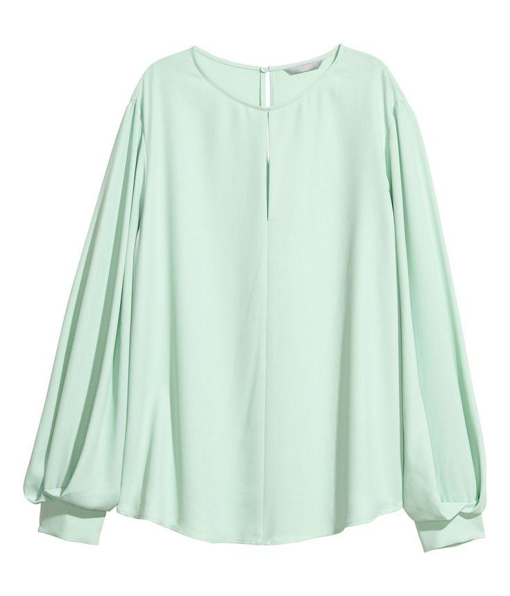 Blusa   Verde claro   MUJER   H&M MX