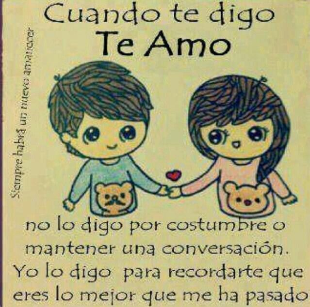 I Love You Mi Amor Quotes : Te Amo Mi Amor Frases Pinterest Te amo mi amor, Te amo and Tes