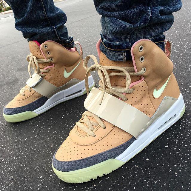 """And I Spent $400 Bucks On This, Just To Be Like Nigga You Ain't Up On This""  Net ""Tan"" Air Yeezy 1s  #Nike #AirYeezy #Yeezy #CaliGotKicks #Sneads #BarbeeDotCom #SoleCollector #NT #NikeTalk #WalkLikeUs #SMYFH #IGSneakerCommunity #The_Perfect_Pair #ComplexKicks #NiceKicks #KicksOfTheDay #KicksOnFire #ShoePorn #Uptown2k #ShoeAffliction #iLoveSwoosh #WLU #RIFLA #PeepMySneaks #SaiyanKicks #DXC"