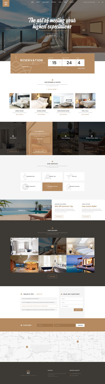 Solaz - An Elegant Hotel & Lodge PSD Template • Download ➝ https://themeforest.net/item/solaz-an-elegant-hotel-lodge-psd-template/17167202?ref=pxcr