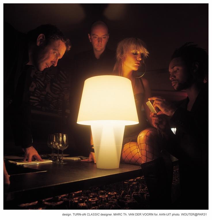 TURN-oN Classic lamp - by Marc Th. van der Voorn for AAN-UIT - Photo ...