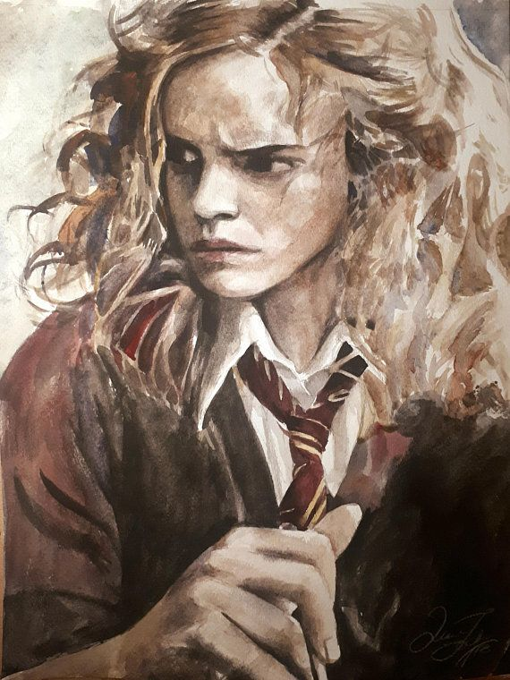 Hermione Granger Print Hermione Art Emma Watson Art Print