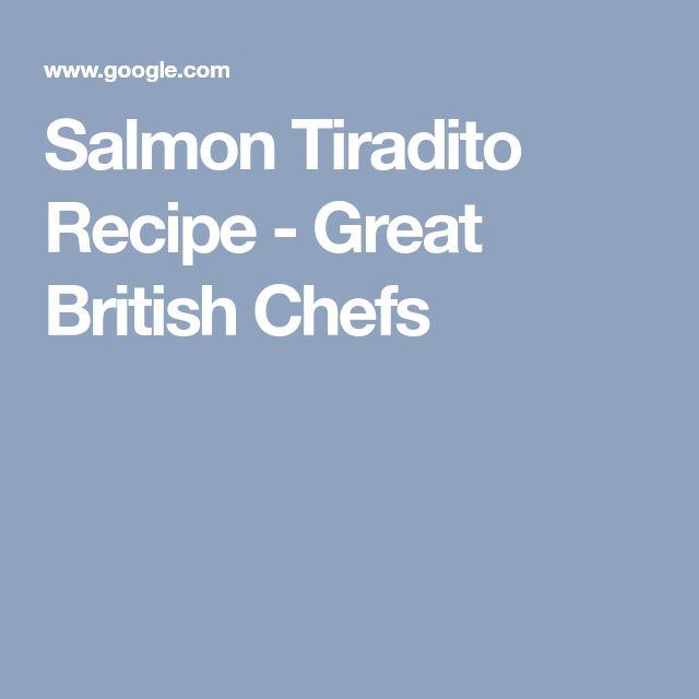 Salmon Tiradito Recipe - Great British Chefs