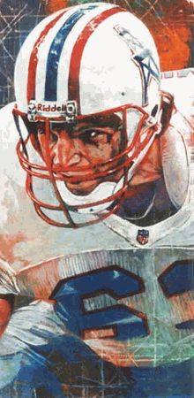 Mike Munchak autographed limited edition print