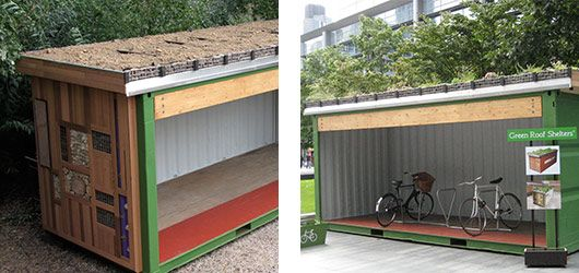 The Green Roof Shelters Container Family Container Homes