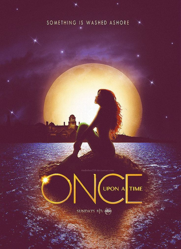 Once Upon a Time Season 3 Poster | Fan made season 3 poster | Can't wait for Ariel to be on the show!