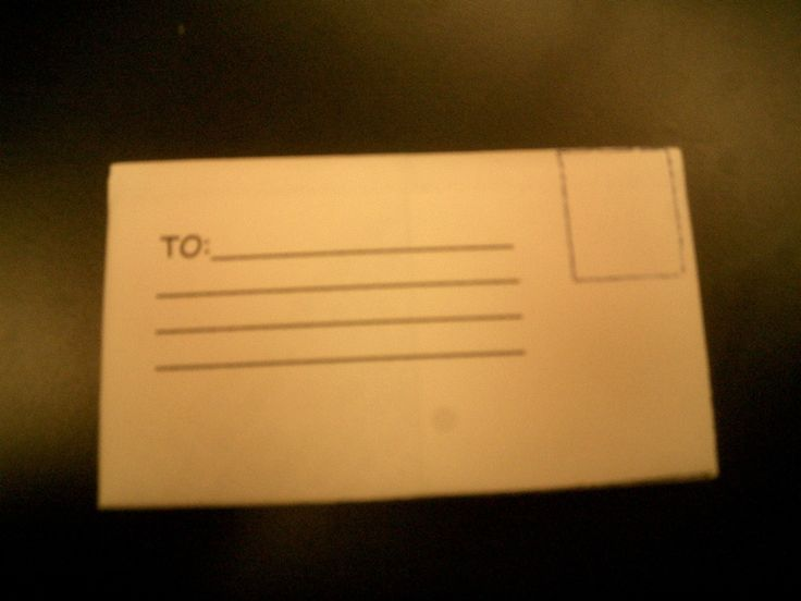 Fold your own envelope from a single sheet of A4 or letter sized paper.