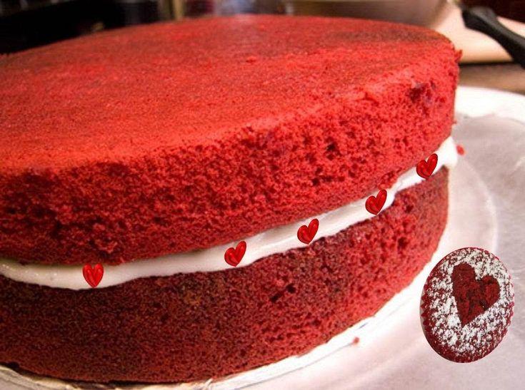 Eggless Red Velvet Cake By Bhavna