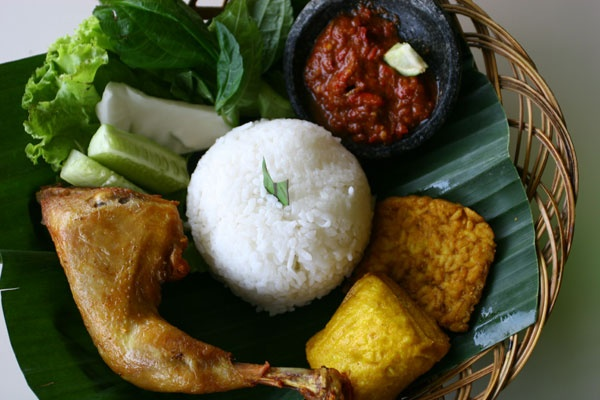 Fried Chicken - Indonesia  (Ayam Goreng)