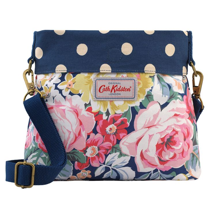 Greenwich Rose Mini Reversible Messenger Bag   Cath Kidston  