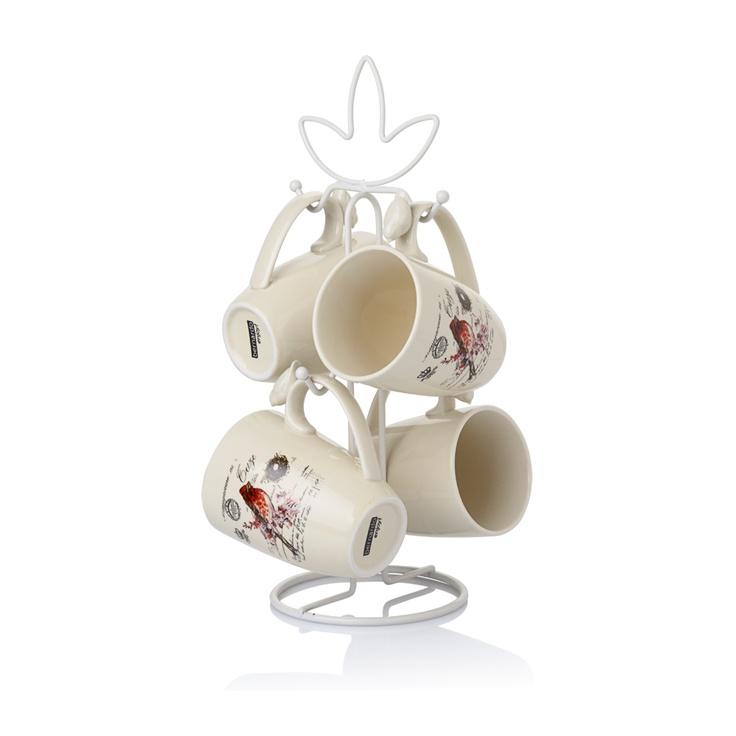 Bremen Standlı Kupa Seti / Mug Set #bernardo #coffee #kahve