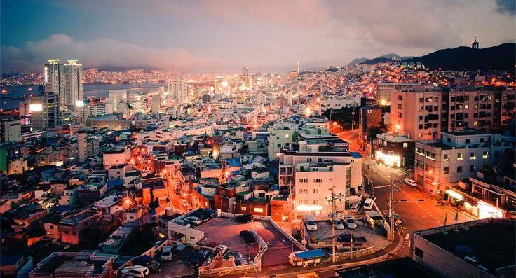 Foto: ONU / Parque Kibae. Vista de Busan, la segunda ciudad más grande de la república de Corea después de Seul.