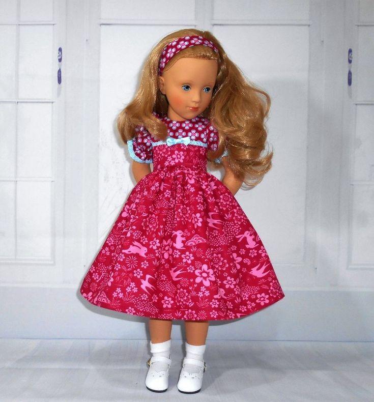 "Handmade dress & alice band fits Sylvia Natterer petitcollin Starlette 16"" doll"