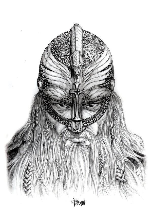 Viking Chieftain Vikings Pinterest