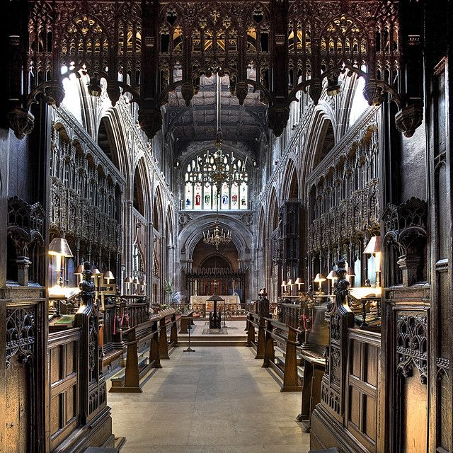 Manchester Cathedral, Manchester, England, United Kingdom, 2010, photograph by Andy Marshall.