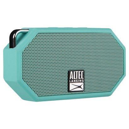Altec Mini H2O Bluetooth Waterproof Speaker Mint