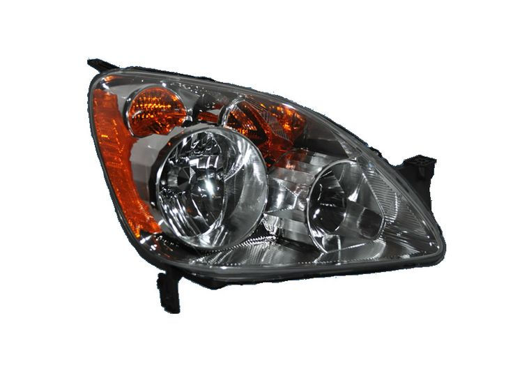 2005-2006 Honda CR-V (UK Built) Passenger Side Headlight: HEADLIGHT CRV 05-06 HL ASY RH #CarHeadlights #AutoHeadlights