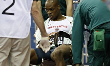 James Dasaolu a doubt for world indoor championships with leg injury