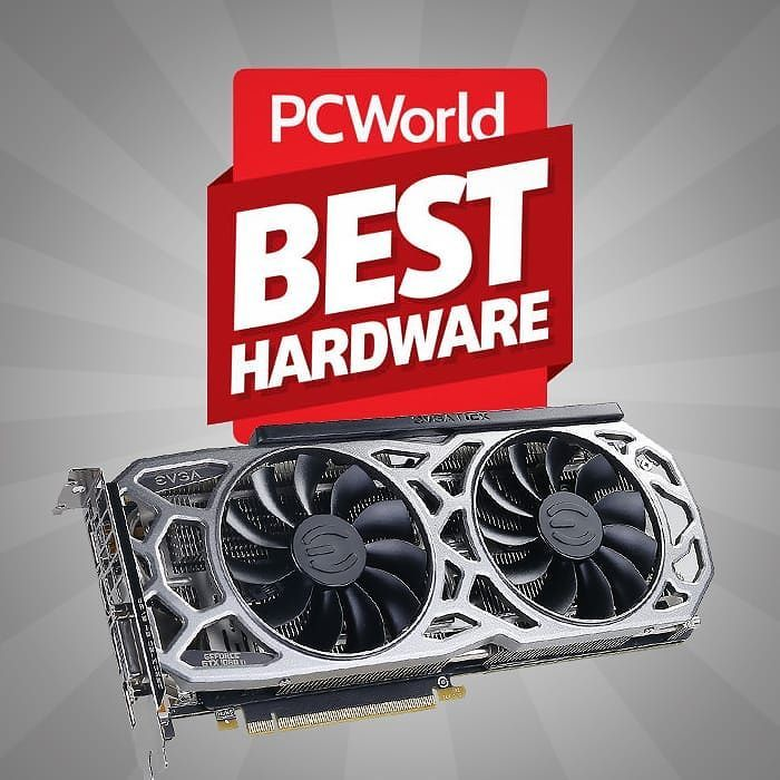 Best hardware of 2017: PCWorld names the top products of the year: . The #EVGA GeForce GTX 1080 Ti SC2 announced as the Best Graphics Card of 2017!! . Check out the full list and article via the link:  http://ift.tt/2BUmX2C via @pcworld . . . . . .  #nvidia #geforce #teamevga #weareEVGA #PCWORLD #2017 #GPUOTY #graphicscardoftheyear #1080TISC2 #SC2 #GeFoce #Nvidia #GTX1080Ti #pcgaming #gaming #game #onlinegaming #pcgamer #pcmasterrace #computer #computers #computertechnology #gamer #gamingpc…