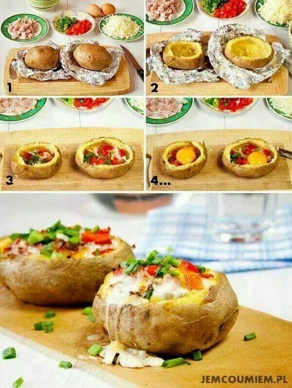 Pommes de terre au four... ...