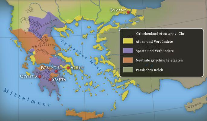 Kindezeitmaschine: Antike, Griechenland, Grundlagen in Lucys Wissensbox