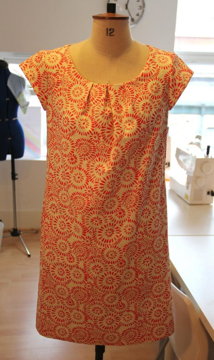 simple t-shaped dress