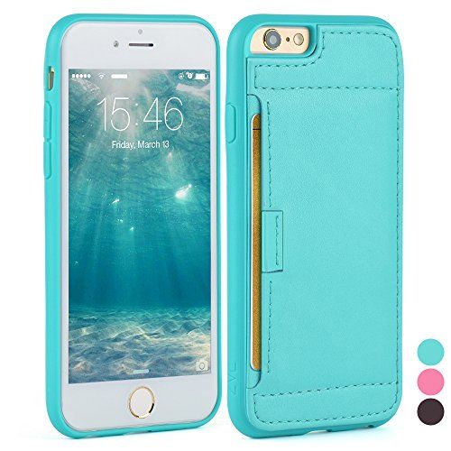Iphone 6S Case - [Wallet Case] ZVE® iphone 6 leather case Slim Protective Leather Wallet, Credit Card ID Holders and carrying case for iphone 6/6S (4.7inch) (Mint Green) ZVE http://www.amazon.com/dp/B00TEOWB7S/ref=cm_sw_r_pi_dp_uOizwb1VPCNW0