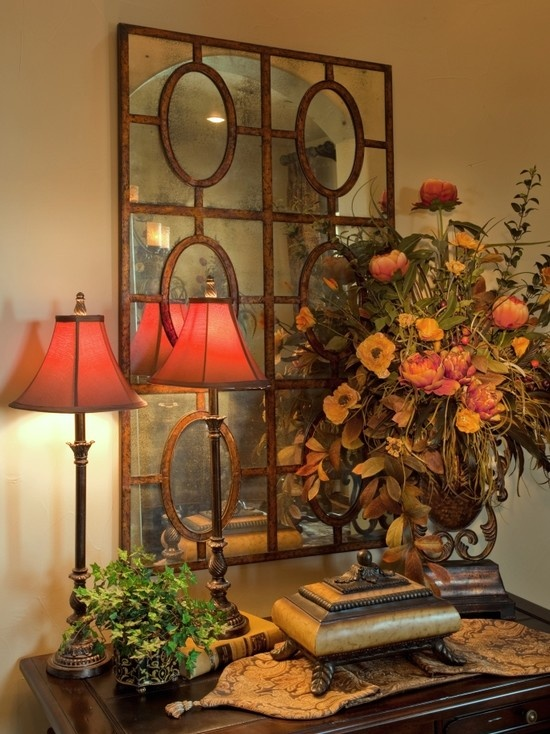 i could do this now - entry table decor