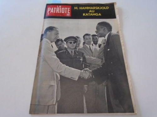 PATRIOTE-ILLUSTRE-N-34-M-HAMMARSKJOLD-AU-KATANGA-LUMUMBA-DE-1960