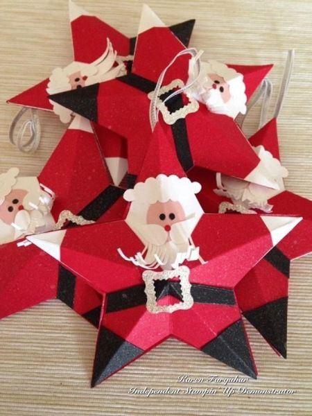 Santa Tree decorations