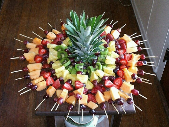 For Lizey's birthday party. Love the pineapple head feature in the middle.
