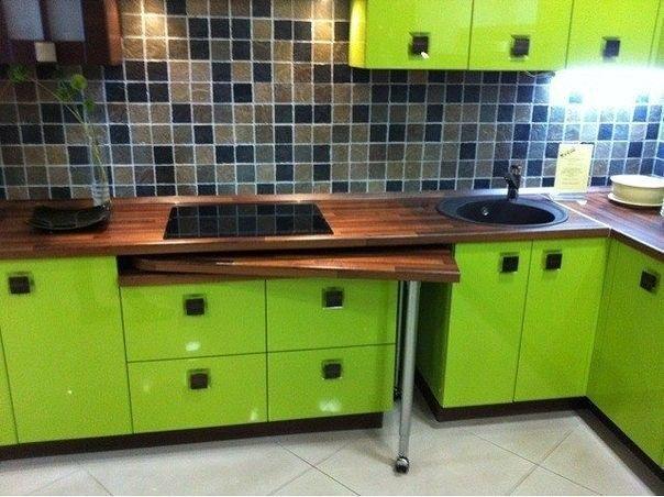 Лайфхак для кухни. Стильная яркая кухня. Зеленая кухня. #justhome#джастхоум#джастхоумдизайн  ❤️❤️❤️Just-Home.ru Бесплатный каталог дизайн проектов квартир. Более 900 практичных и бюджетных проектов . Переходите на сайт и выбирайте лучшее!  #лайфхак #лайфхаккухня #lifehack #яркаякухня #зеленаякухня #дизайнкухня #кухня2016 #идеикухни #идеиинтерьеракухни #дизайнинтерьеракухни #кухнякомната #идеиремонтакухни #кухня #дизайнинтерьера #интересныйремонт #длядома #идеиремонтаквартиры