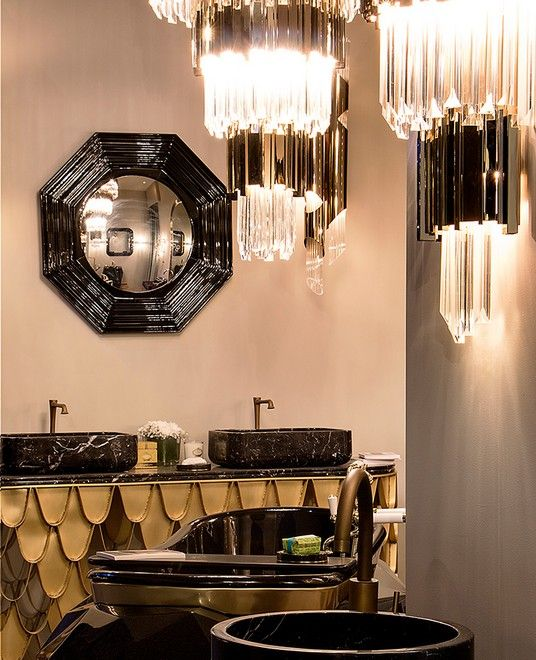 Maison & Objet show will be held January 20 - 24 in Paris. If you plan to attend to one of the most prestigious interior design fairs, please make sure you stop by Luxxu stand and see the inspiring Empire Wall Lamp.
