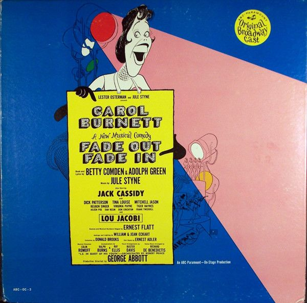 Carol Burnett - Fade In - Fade Out (Original Broadway Cast): buy LP, Mono at Discogs