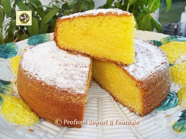 Torta soffice al limoncello ricetta golosa  Blog Profumi Sapori & Fantasia