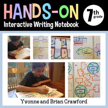 Interactive Writing Notebook Seventh Grade Common Core