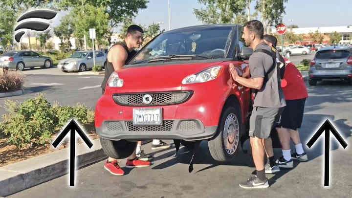 Funk Bros - Body Builders Lift Strangers Car Prank! OWNER WAS PISSED, THEY CALLED THE COPS! So today has been crazy day!I Got my funk...