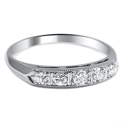 14K White Gold The Gendry Ring from Brilliant Earth