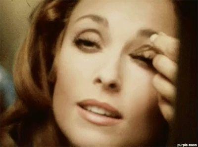 Sharon Tate n her fab eye makeup