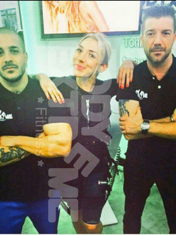 Paula de GH15 entrenando con los personal trainers de Body Extreme Madrid