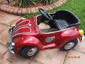 image detail for rare vintage antique volkswagen beetle metal pedal car ebay
