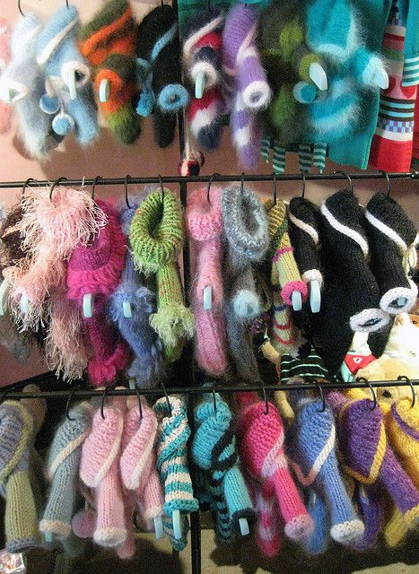 Fifi & Romeo hand-knit pet sweaters