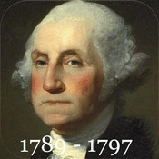 Learn the U.S. Presidents with an app! Presidents Word Search Game for Kids 6+ #kidstech #history